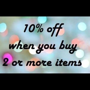 Other - 10% off 2 items or more